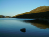 South Uist island / Uibhist a Deas, Outer Hebrides, Scotland:  the calm waters of Loch Snigisclett - photo by T.Trenchard
