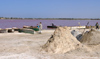 Senegal - Lake Retba or Lake Rose: lies on the north side of the Cap Vert peninsula - salt - photo by G.Frysinger