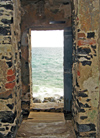 Senegal - Gorée Island - House of Slaves - exit to the ships - UNESCO world heritage site - photo by G.Frysinger