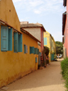 Senegal - Gorée Island - Senegalese houses - photo by G.Frysinger