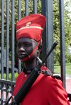 Senegal - Dakar: presidential Palace Guard - photo by G.Frysinger