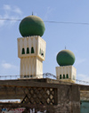 Senegal - mosque - minarets - photo by G.Frysinger