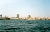 Senegal - Dakar: seen from the Atlantic - skyline - photo by B.Cloutier