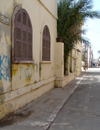 Senegal - Saint Louis: colonial street - photo by G.Frysinger