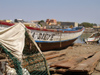 Senegal - Saint Louis: fishermen village - fishing boat - photo by G.Frysinger