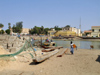 Senegal - Saint Louis: fishermen village - beach - photo by G.Frysinger