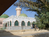 Senegal - Touba - Great mosque - tomb of Amadou Bamba aka Khadimu 'l-Rasul - muslim Sufi religious leader, founder of the Mouride Brotherhood - mausolée de Cheikh Ahmadou Bamba - photo by G.Frysinger - photo by G.Frysinger