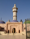 Senegal - Touba - Great mosque - 87-meter high central minaret, called Lamp Fall -  photo by G.Frysinger