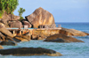 Mahe, Seychelles: Danzil - rock formations and coastal promenade - photo by M.Torres