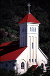Seychelles - Mahe island: Cascade - St Andrew's church - photo by F.Rigaud