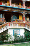 Sikkim - Gangtok: Karma Shri Nalanda Institute of Buddhist Studies - photo by G.Frysinger