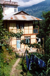 Sikkim - near Gangtok: country home - photo by G.Frysinger