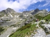 Slovakia - High Tatras: hikers trail - photo by J.Kaman