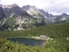 Slovakia - High Tatras - Popradské Pleso: lake and forest - photo by J.Kaman