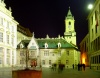 Slovakia / Slowakei - Bratislava: Primaci�lne Square at night - photo by J.Kaman