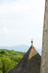 Western Slovakia / Západoslovenský - Trencín: view from the castle - horizon (photo by P.Gustafson)