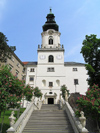 Slovakia - Nitra: St Emeram Cathedral, a Piarist church - photo by J.Kaman