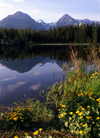 Slovakia - Strba, Poprad District - Presov Region: Lake Strba in High Tatra mountains area - Strbske Pleso - photo by J.Fekete