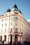 Slovenia - Ljubljana / LJU : Grand Hotel Union - Miklosiceva street - photo by M.Torres