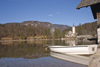 Slovenia - Ribcev Laz - View across Bohinj Lake in Spring - photo by I.Middleton