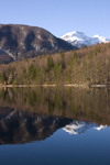 Slovenia - perfect mirror - Mountains reflected in Bohinj Lake - photo by I.Middleton