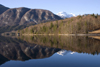 Slovenia - landscape reflected in Bohinj Lake - photo by I.Middleton