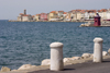 Slovenia - Piran / Pirano: promenade and harbour entrance - photo by I.Middleton