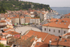 Slovenia - Piran: view of Tartinijev Trg from above - photo by I.Middleton