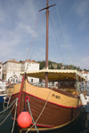 Slovenia - Piran: wooden boat - harbour, Adriatic coast - photo by I.Middleton