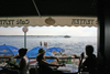 Slovenia - Piran: seafront as seen from Cafe Teater, Adriatic coast - photo by I.Middleton