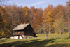Slovenia - Kocevski Rog: house in the forest - photo by I.Middleton