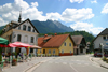Slovenia - Kranjska Gora - Upper Carniola / Gorenjska: main road - photo by I.Middleton