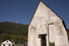 Church of Saint Nicholas near Rogaska Slatina - start of the trail to the 960m summit of Boc mountain, Slovenia