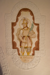 Slovenia - Kamnik: St Felician - painting on a ceiling - photo by I.Middleton