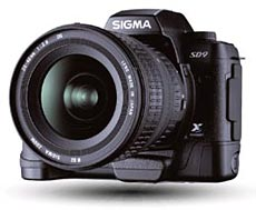 Sigma SD9 digital SLR
