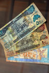 Somaliland currency - Shillings - bank notes issued by the Bank of Somaliland - photo by M.Torres