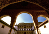 Spain / España - Granada: the Alhambra - arches / arcos - photo by F.Rigaud
