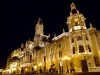 Spain / España - Valencia: Plaza de Ayuntamiento - nocturnal (photo by M.Bergsma)