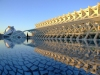 Spain / España - Valencia / València: Prince Philip museum of Science - pond - Museo de les Ciencies Princip Felip (CAC) (photo by M.Bergsma)