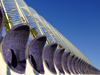 Spain / España - Valencia: huge dug-out outside L'Umbràcul / L'Umbracle (photo by M.Bergsma)