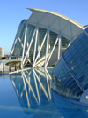 Spain / España - Valencia: Prince Philip museum of Science - Museo de les Ciencies Princip Felip - Ciutat de les Arts i les Ciències - modern architecture (photo by M.Bergsma)