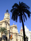 Spain / España - Valencia: Plaza de Ayuntamiento - City Hall (photo by M.Bergsma)