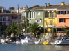 Spain / España - Valencia: little harbour of Avinguda del Mar (photo by M.Bergsma)
