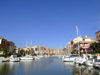 Spain / España - Valencia: little harbour of Avinguda del Mar - canal (photo by M.Bergsma)