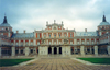 Spain / España - Aranjuez: the royal palace - designed by Juan Bautista de Toledo and Juan de Herrera - photo by M.Torres