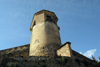 Spain / España - Extremadura - Plasencia: tower on the walls - muralla - torreon (photo by M.Torres)