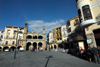 Spain / España - Extremadura - Plasencia: City Hall - Plaza Mayor - Ayuntamiento - Casa Consistorial (photo by M.Torres)