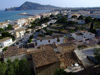 Spain - Altea - rooftops - Benidorm seen from Altea - photo by M.Bergsma