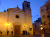 Spain - Benidorm - Church - nocturnal - photo by M.Bergsma