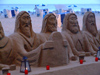 Spain - Benidorm - Sand sculptures at Playa de Levante - photo by M.Bergsma